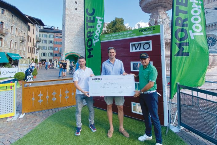 Mortec Tooor dona 1000€ all'AIL Trentino